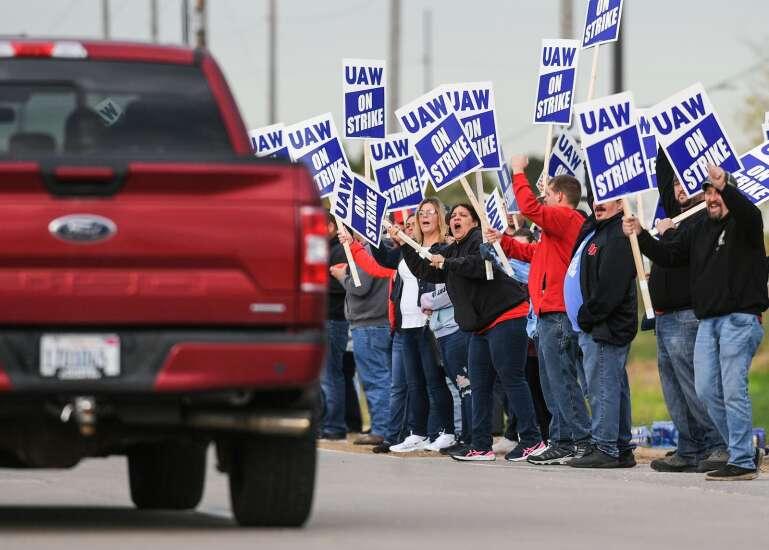 Thousands of John Deere workers go on strike
