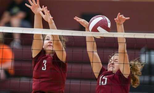 Photos: Independence Invite volleyball