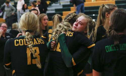 PHOTOS: Johnston at Kennedy Volleyball
