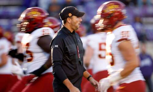 Iowa State football notes: Cyclones hope to weather the storm