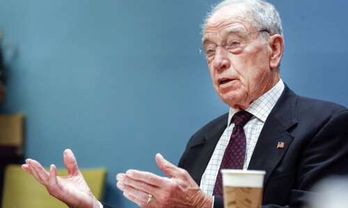 Grassley not advising Iowa House members on infrastructure bill