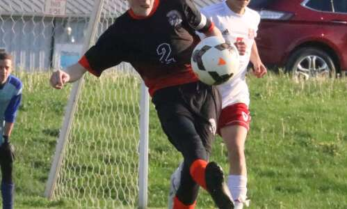 Fairfield boys soccer foiled by first-place Fort Madison